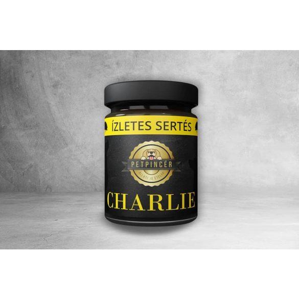PetPincér főtt eledel - CHARLIE - Ízletes sertés