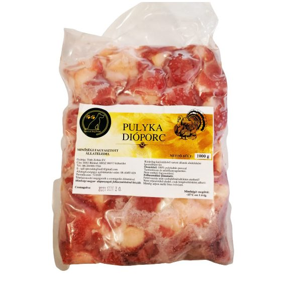 Pulyka Dióporc 1kg, Special Dog Food