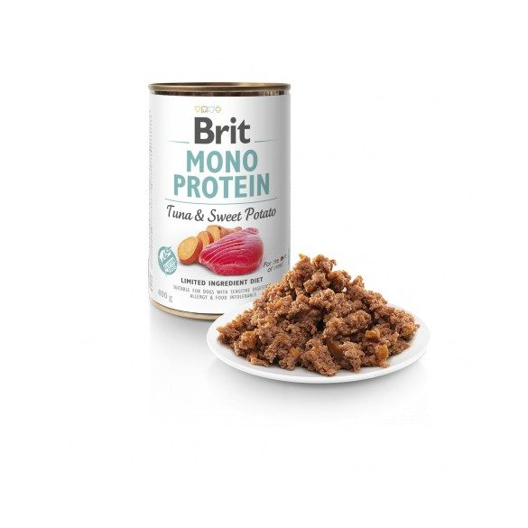 Brit Mono Protein Tonhal & édesburgonya